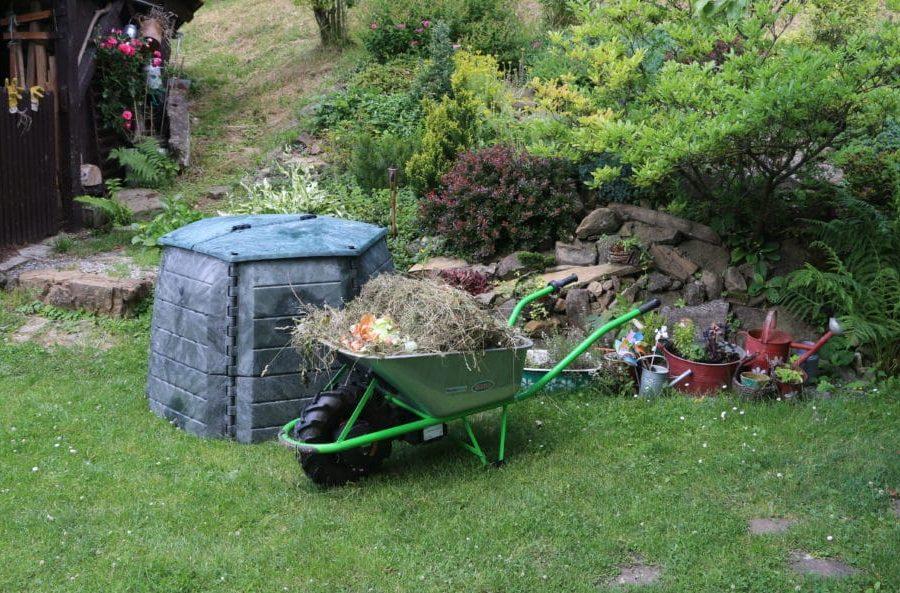 komposter na zahrade