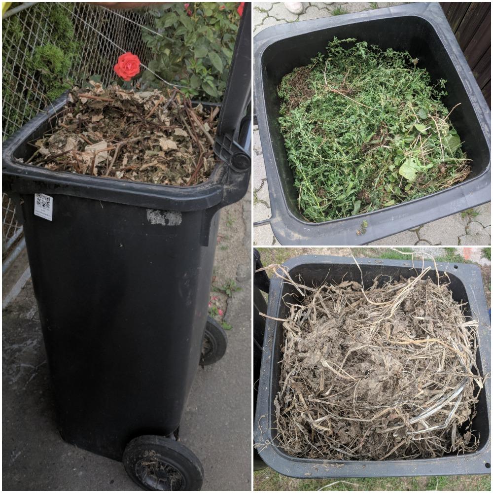 bioodpad, skládky, plné koše,
