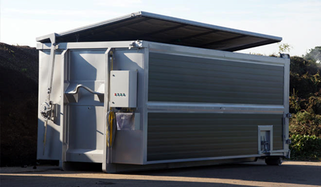 CSC kontajner, hygienizácia bioodpadu, kuchynské odpady,
