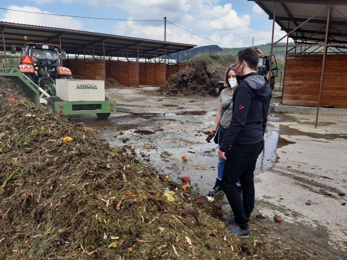 kompostovanie, CSC kontajner, prekopávač kompostu