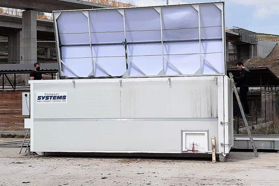 hygienizačný kontajner, fermentor, CSX kontajner
