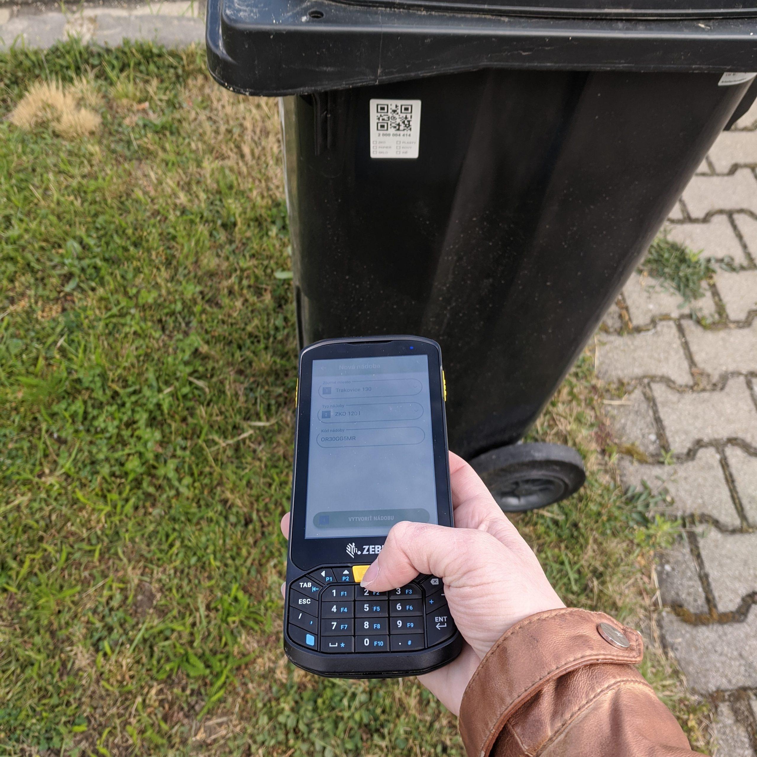 ELWIS, evidencia odpadu, skenovanie nádob, čipovanie nadob, evidovanie smetí