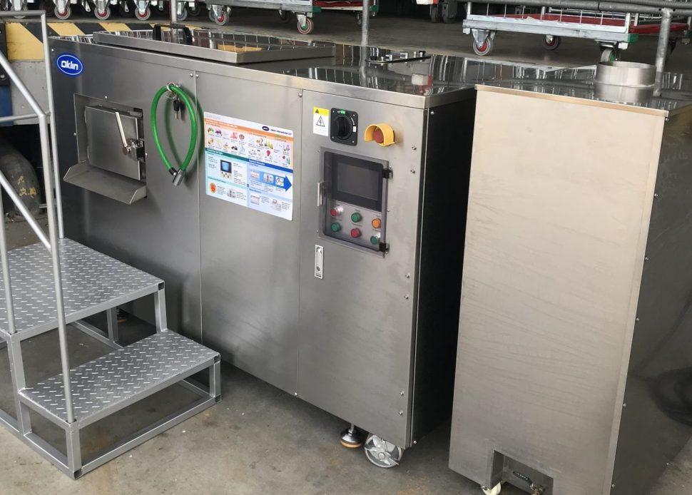 fermentor, elektrický kompostér, hygienizácia