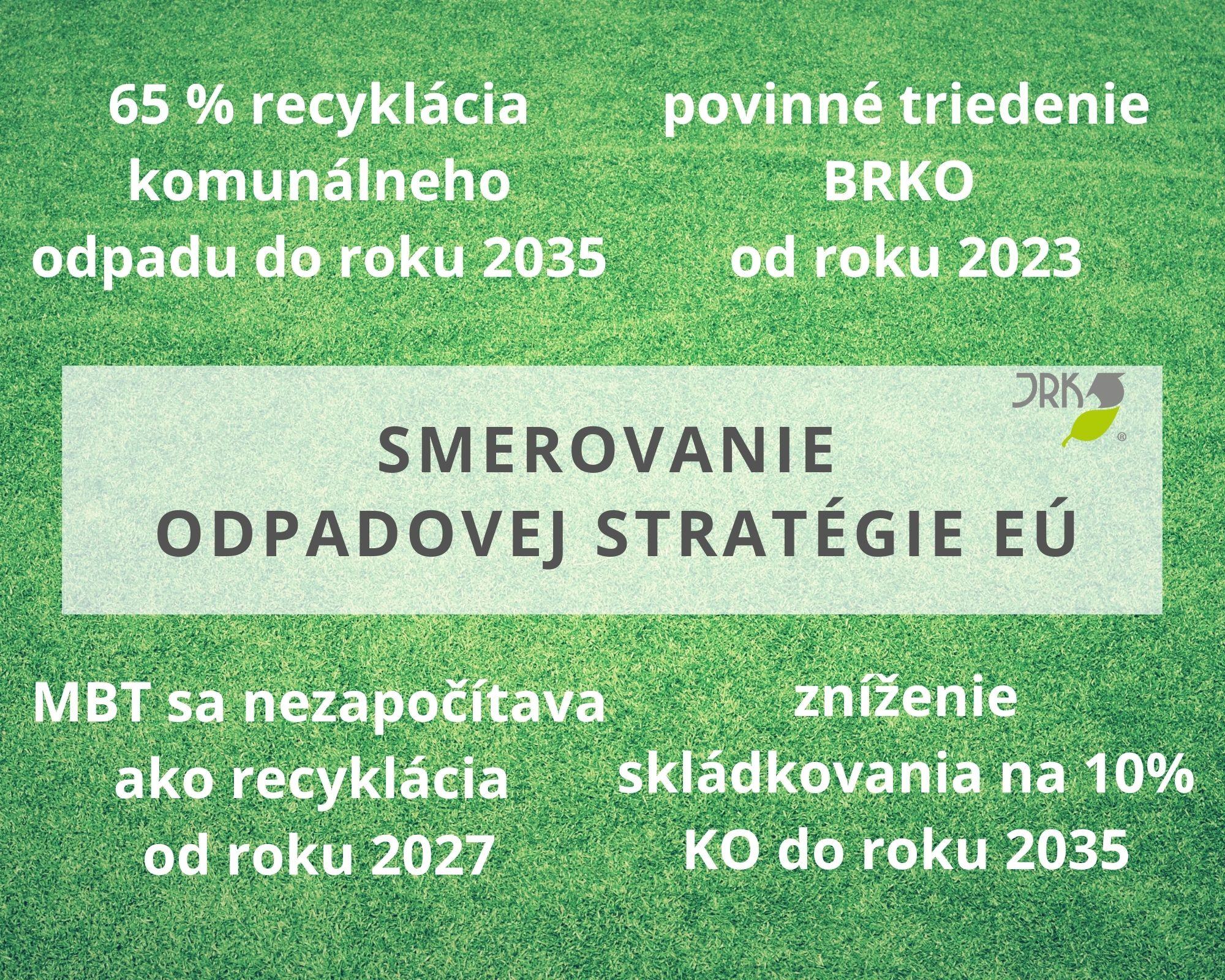 triedenie odpadu, kuchynský odpad, ciele EU v odpadoch