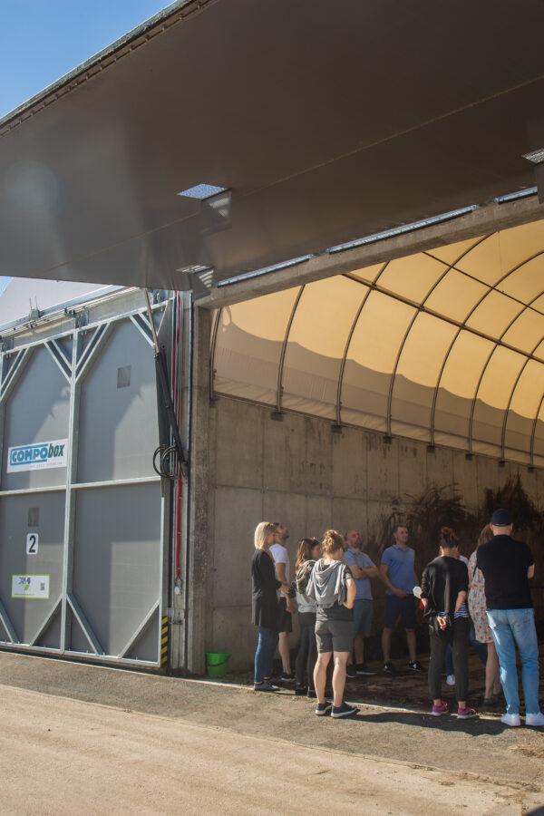 Neďaleko Žiliny otvorili komplexnú linka na mechanicko-biologickú úpravu odpadu