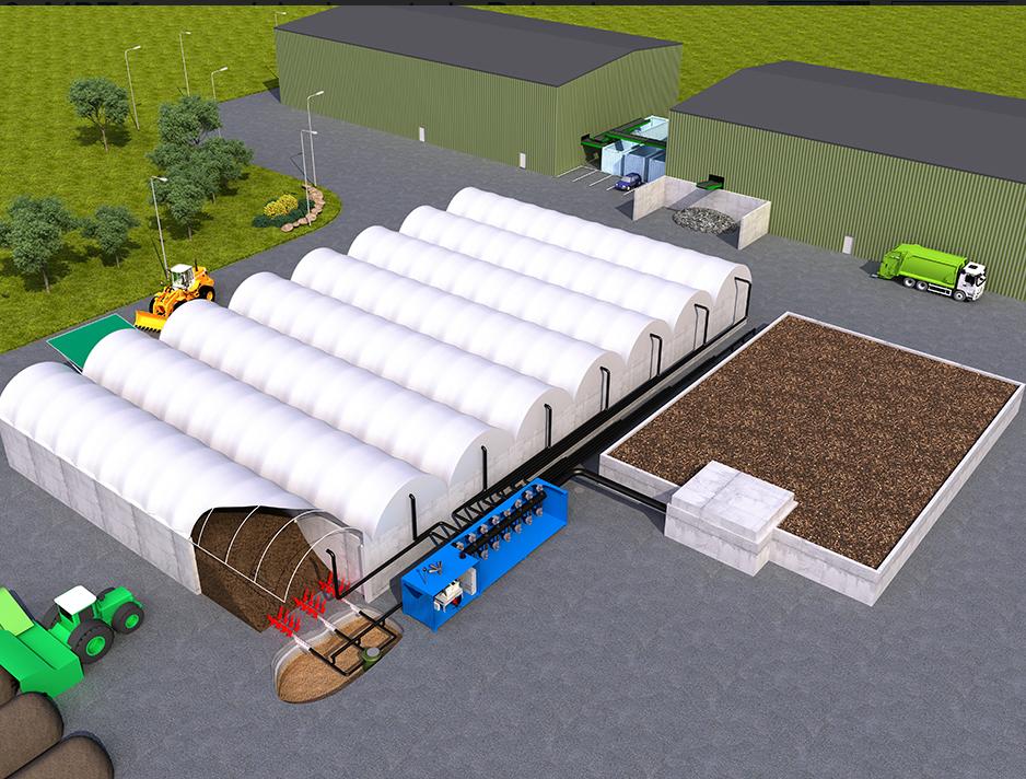 MBU linka, predúprava odpadu, mechanicko-biologická úprava odpadu