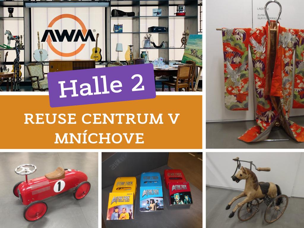 JRK Slovensko - reuse centrum v Mníchove Halle 2