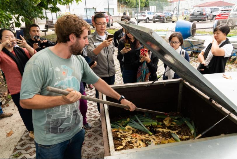 JRK SLovensko Pontevedra kompostovanie bioodpad